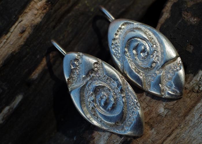 Spiralen-Ohrhänger