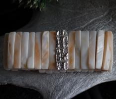 Armband Perlmut – Silber