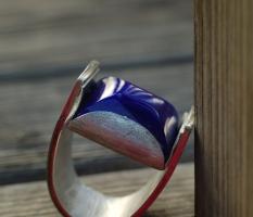 Lapislazuli-Ring