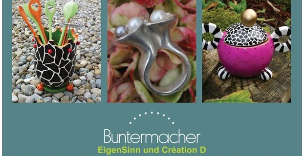 BUNTERMACHER   Sommer-Feeling im Atelier EigenSinn, Samstag 21.Juni 2014, 10 -17 Uhr