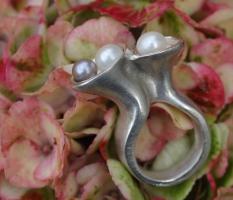 Markanter Perlenring