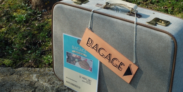 Frühlingsgefühle im Atelier, und Countdown für den Koffermarkt BAGAGE
